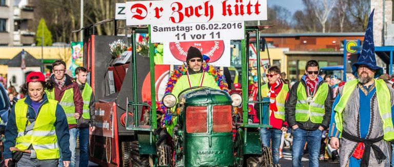 Königsdorfer Karnavalsumzug 2016