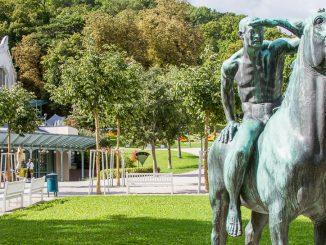 Kurpark in Baden bei Wien
