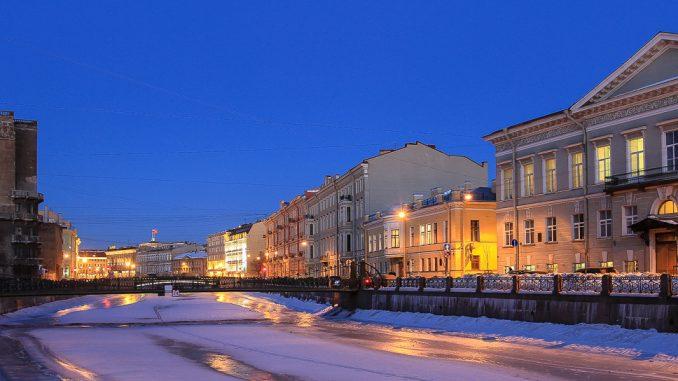 Winter in Sankt Petersburg