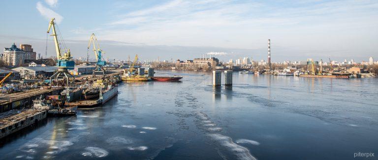 Winterspaziergang am Dnepr